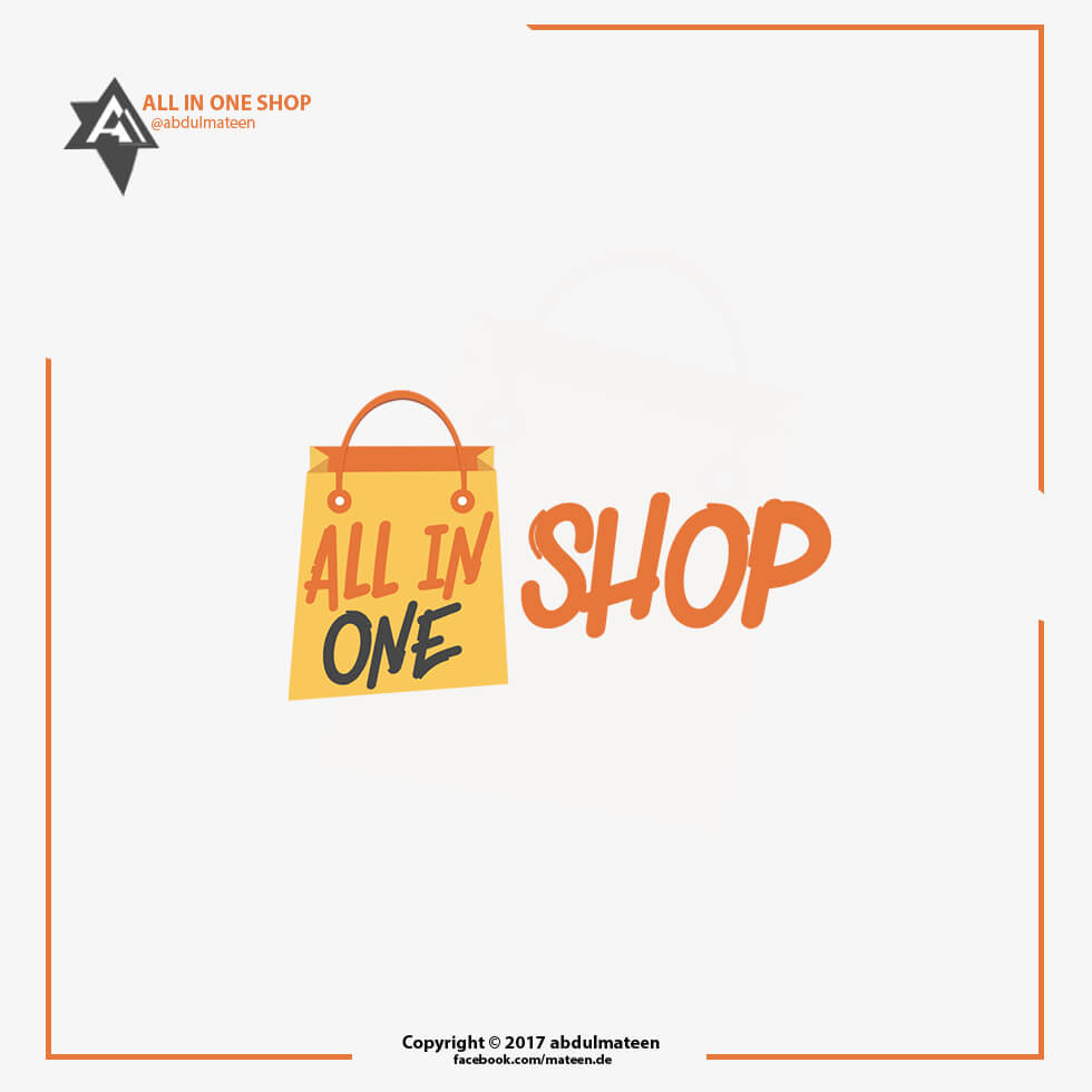 ALL IN ONE SHOP -LOGO