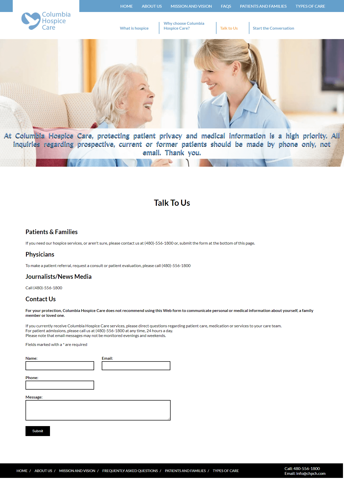 Columbia-Hospice-Care-Contact