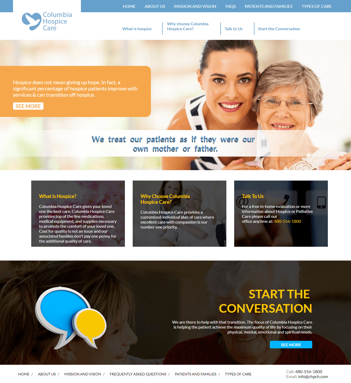 Columbia-Hospice-Care-Website
