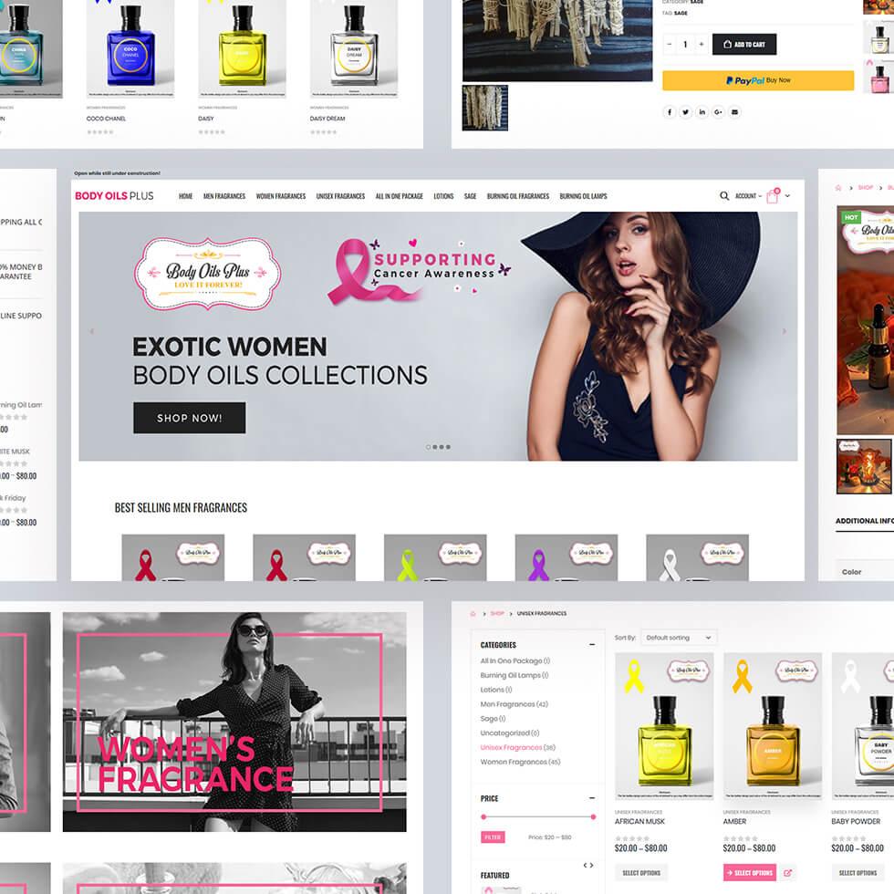 Body Oil Plus – Best Selling Fragrances