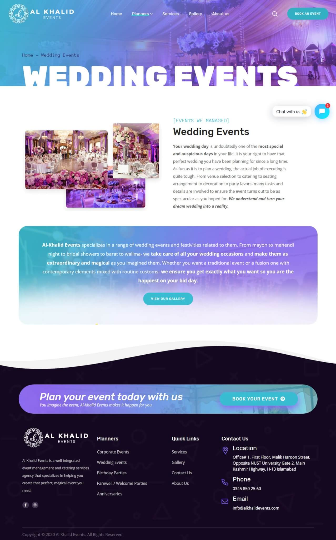 Al Khalid - Website Design and Development by Abdul Mateen
