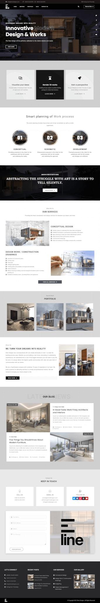E-Line-Designs-Home Page